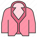 cloth, fashion, garment, style, suit, vest, waistcoat icon