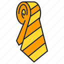 apparel, cloth, costume, fashion, garment, necktie, style icon