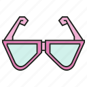 eyeglass, fashion, style, sunglass icon