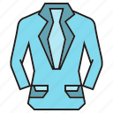 cloth, fashion, garment, shirt, style, suit, tuxedo icon