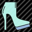 boot, fashion, footwear, high heel, shoe, style