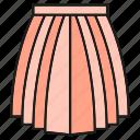 apparel, cloth, costume, fashion, garment, skirt, style icon