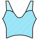 cloth, costume, fashion, garment, singlet, undershirt, vest icon