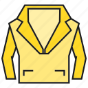 apparel, cloth, costume, fashion, garment, style, suit icon
