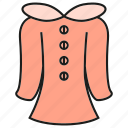 apparel, cloth, costume, dress, fairy dress, fashion, garment icon