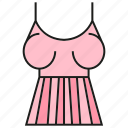 style, fashion, garment, swimsuit, cloth, costume, apparel icon