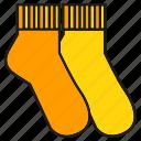 apparel, cloth, costume, fashion, garment, socks, style
