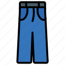 jeans, pants, trouser icon