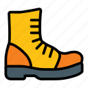 boot, footwear, shoe, shoes icon