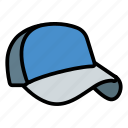 baseball, cap, hat icon