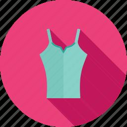 casual, clothing, fashion, female, lady, style, vest icon
