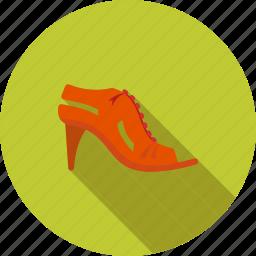 fashion, heel, high, sandal, shoe, shoes, woman icon