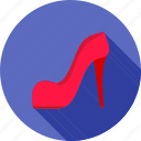 color, fashion, female, high, modern, pair, shoe icon