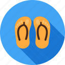 clothing, comfortable, footwear, house, slipper, slippers, summer icon