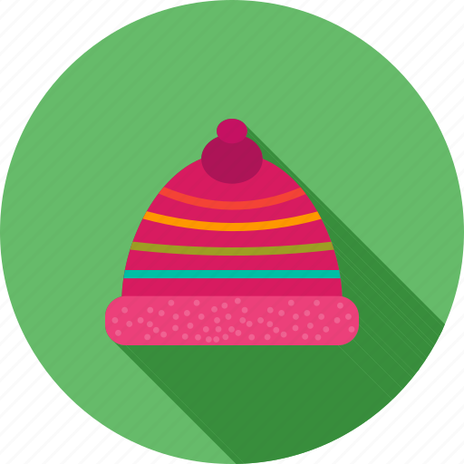 cap, christmas, decoration, hat, red, santa, season icon