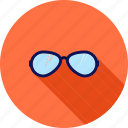beach, fashion, glasses, protection, reflection, summer, sunglasses icon