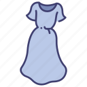 clothes, clothing, dress, fashion, female, garment, wear icon