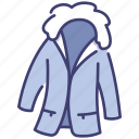 clothing, fashion, garment, hiking, jacket, wear, winter icon