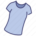 clothing, female, garment, shirt, tshirt, wear, woman icon
