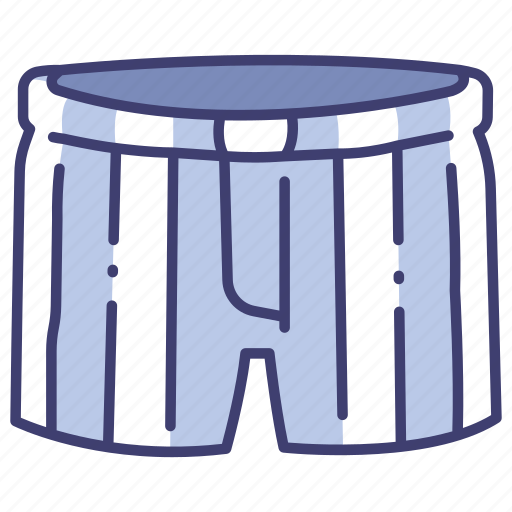 boxer, clothes, clothing, garment, shorts, underwear, wear icon