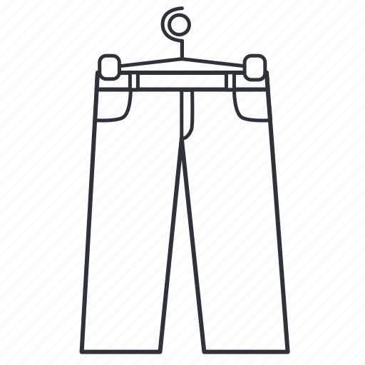 apparel, breeches, clothes, corduroys, pants, style, trousers icon