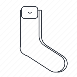 apparel, clothes, couple of socks, foot, socks, toe icon