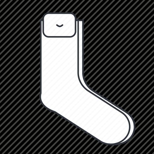 apparel, clothes, couple of socks, foot, socks, toe icon
