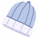 clothes, clothing, fashion, hat, warm, winter, wool icon