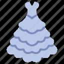 wear, dress, wedding, clothing, garment, clothes, bride