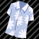 aloha, clothes, clothing, fashion, garment, shirt, wear