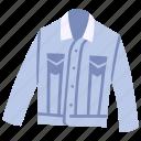 clothes, clothing, denim, fashion, garment, jacket, wear
