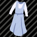 apron, clothes, clothing, dress, fashion, garment, wear