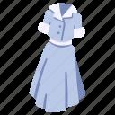 clothing, dress, fashion, garment, shirt, wear, woman icon
