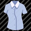 clothes, clothing, female, garment, shirt, wear, woman icon