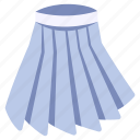 clothes, clothing, fashion, garment, skirt, student, wear icon
