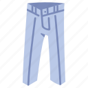 clothes, clothing, fashion, garment, jeans, pants, wear icon