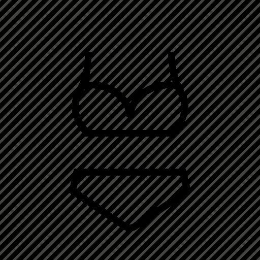 bar, bikini, clothes, panty, slip, underwear icon