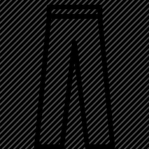 clothes, fashion, long, pants icon
