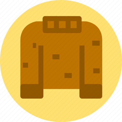 clothes, clothing, sweater icon