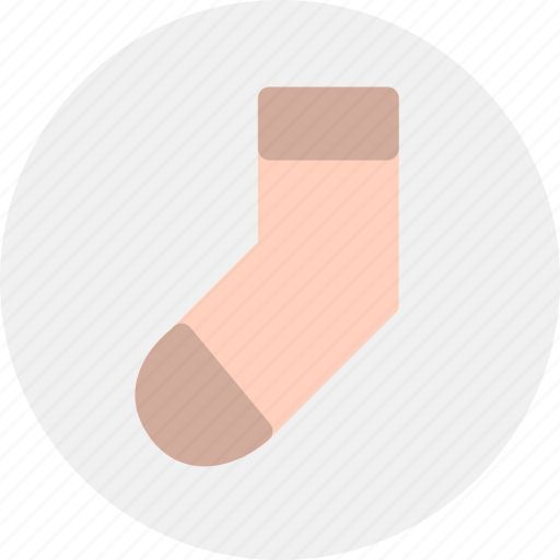 clothes, clothing, fashion, sock icon