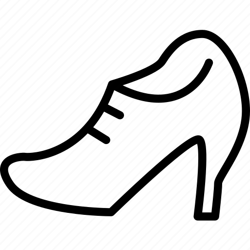 fashion, female, girl, shoes, size, wear, woman shoes icon