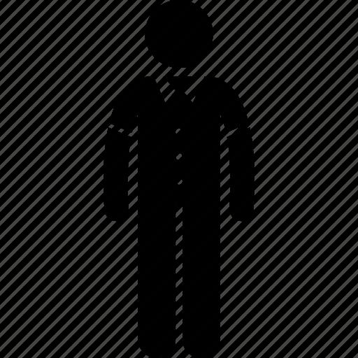 collar, man, shirt, wear icon