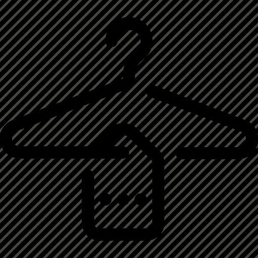 clothing, hanger, store, wardrobe icon