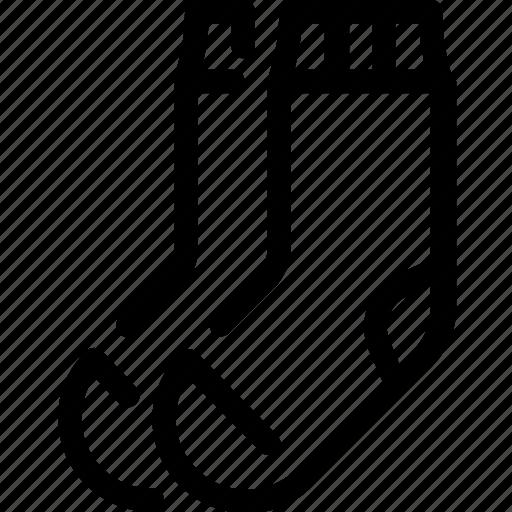 socks, wear, woolen icon