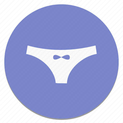circle, pantie icon