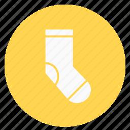 circle, cloth, sock icon