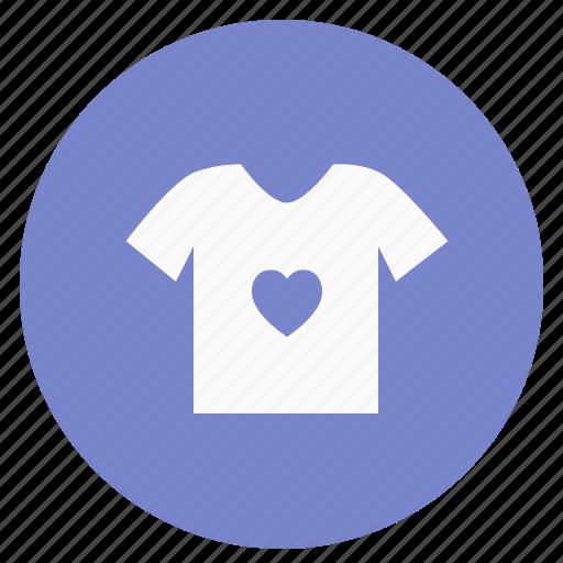 circle, cloth, shirt, t-shirt, tshirt, wear icon