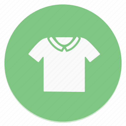 circle, shirt, t, t-shirt icon