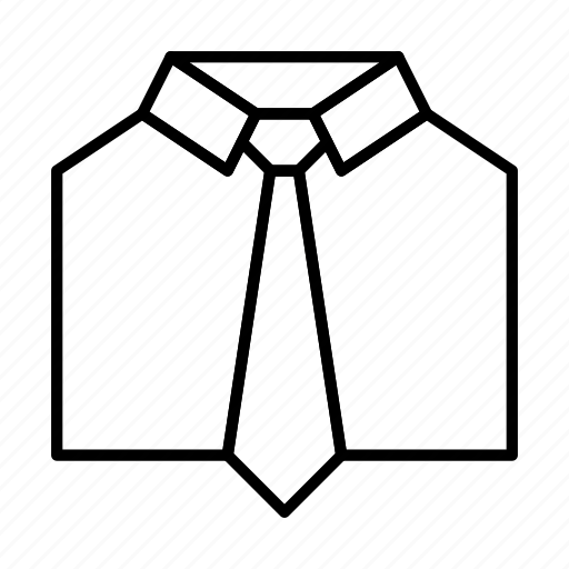 clothes, clothing, fashion, shirt, t, tie icon