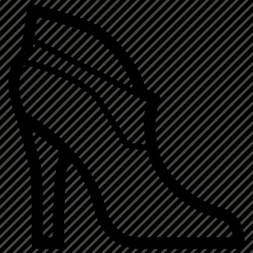 Fashion, footwear, heel, heels, high, lady, shoe icon - Download on Iconfinder